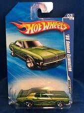 Hot Wheels 2010 Muscle Mania Series 1969 Mercury Cougar Eliminator Green #81/240