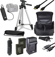 Accessory Bundle Kit For Canon EOS Rebel T3 T5 T6 1300D 1200D 1100D Camera