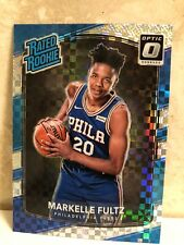 2017-18 Donruss Optic Checkerboard Holo #200 Markelle Fultz RC Rookie RARE
