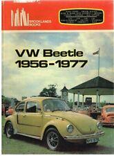 VW BEETLE 1200 1300 1500 & SUPER BEETLE 1302 1303 '56-77 PERIOD ROAD TESTS BOOK