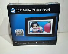 "HP 10.1"" Digital LED Picture Brown Photo Frame With Remote - df1010p3"
