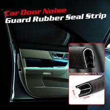 3m 10ft Rubber U Channel Lock Seal Trim Car Truck Durable Home Door Protector