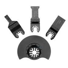 4pcs/set Oscillating MultiTool Saw Blade for Renovator Power Tools Cutting Kits