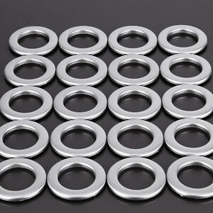 20 x Stoffösen Durchm 35 mm Kunststoff Ösen Vorhänge Gardine Rost