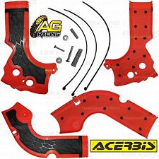 Acerbis X-Grip Red Frame Guards Protectors Honda CRF 450R 2013 Motocross Enduro