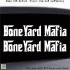 Boneyard Mafia Hot Rod Car Decal Sticker Salvage Parts Junk Yard Wrecking