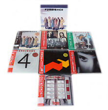 Foreigner - 7 Mini LP CD Japan 2007 + Promo-Box VERY RARE OOP COMPLETE SET NEW!!