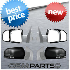 NEW PAIR SIDE VIEW MIRROR TOWING EXTENSION SNAP CLIP ON FIT TOW FORD F150 TRUCK