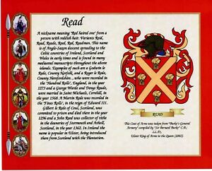 Personalised Family Coat of Arms , Family Crest with Name Origin History