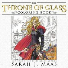 The Throne of Glass Coloring Book by Sarah J. Maas - BRAND NEW!
