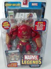 Marvel Legends HULKBUSTER IRON MAN LEGENDARY RIDER SERIES NIB WITH COMIC BOOK