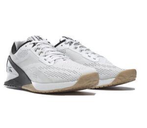 Reebok Nano X1 Training Men's shoes size 9.5M NEW - Color: White/Black