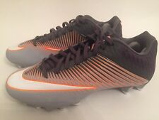 the latest 10ac2 66f45 Nike Vapor Speed 2 Low Lacrosse Cleats Shoes Grey Orange White Size 9.5 NEW!
