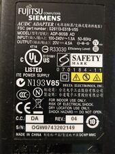 NUOVO ORIGINALE DELTA 65 W Adattatore Alimentatore per Fujitsu Amilo Pro V3505