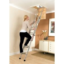 Youngman Easiway 313340 Sliding Loft Access Ladder 3 Section Aluminium 3m
