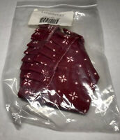longaberger small berry basket liner Traditional Red New