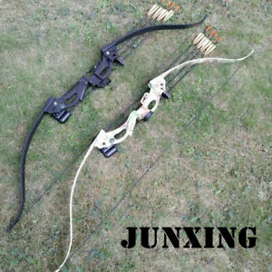 "48inch Junxing F119 Recurve Bow 28"" Draw Length 20lbs Archery Practice Training"