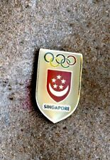 NOC Singapore 1992 Barcelona OLYMPIC Games Pin