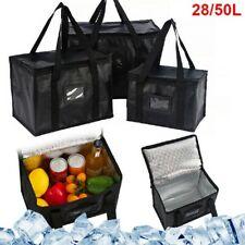 More details for delivery insulated bags food pizza takeaway thermal warm/cold bag ruck 2 sizes