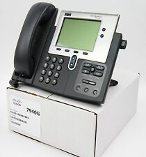 Cisco CP-7940G 7940 SIP VoIP IP Phone PoE-Lot 1 YEAR WARRANTY - Ships FAST
