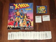 X-Men Empty 1994 Panini album, Complete1994 Loose 216 Panini Sticker Set & more