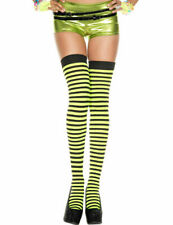 VARIOUS Sex y Opaque Striped Stockings-Ladies Fancy Dress Over The Knee Socks Hi