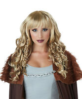 Warrior Queen Womens Adult Spartan Wig