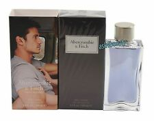 First Instinct By Abercrombie & Fitch For Men 3.4oz Edt Spray New In Box