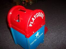 VINTAGE PLAYSCHOOL WOODEN  MAIL BOX