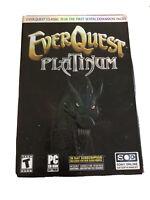 Open Box EverQuest (Ever Quest) - Platinum (Classic + 7 Expansions)-(PC CD-ROM)