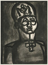 Georges Rouault Reproduction: Far from the Smile of Rhiems - Fine Art Print
