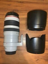 Canon EF 100-400mm f/4.5-5.6 IS DO L USM Lens- GREAT CONDITION with UV filters