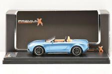 Ixo Premium x Pr0480 Mini Superleggera Vision Concept Bleu 2014 1/43