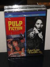 Pulp Fiction / Jackie Brown (Dvd) Pam Grier, John Travolta, Uma Thurman, New!