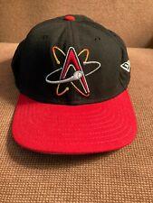 Albuquerque Isotopes MiLB Genuine Merchandise Black Red Adjustable Hat Cap
