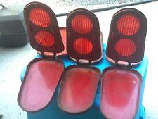 Vintage REFLECT-O-FLARE Model 96 Folding Metal Emergency Road Safety Reflectors