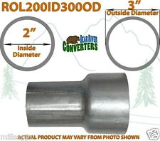 "2"" ID to 3"" OD Universal Exhaust Pipe to Component Adapter Reducer"