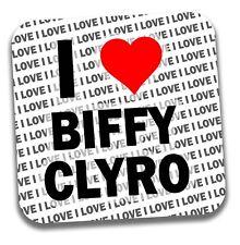 I Love Biffy Clyro bevande Sottobicchiere-Regalo-Compleanno-Calza Filler