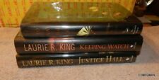 Justice Hall by Laurie R. King Signed Copy & 2 Signed Others Bonus Books