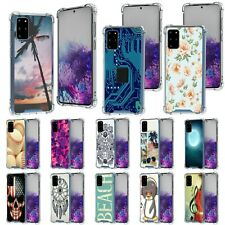 For Samsung Galaxy S20 Plus 6.7 Slim Fitted Flexible TPU Case Shock Clear Bumper