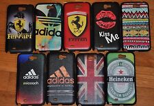 Wholesale 9 pcs/L Deluxe Vintage Hard Cover Case for Samsung Galaxy Note 2 N7100