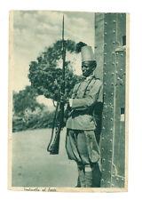 AFRICA ORIENTALE SENTINELLA AL FORTE ERITREA COLONIE D'ITALIA ASCARI ANNI '30