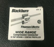 Case of 250 Thomas & Betts WR159 #1 Aluminum H Tap Compression Connectors