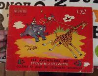 Les Aventures de Sylvain & Sylvette N°12 Colères et Joies de l'Éléphant Bouboule