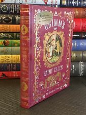 GRIMM'S FAIRY TALES by BROTHERS GRIMM Illustrated, Leatherbound & Brand New