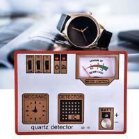 Testeur de Batterie de Testeur de Quartz Demagnetizer Montre Horloger Regarder