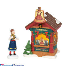Dept 56 Alpine Village 6002289 Christmas Market Gold Foil Angels 2018