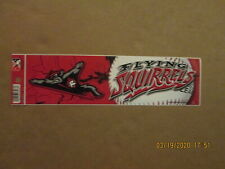 Eastern League Richmond Flying Squirrels Circa 2012 Style#2 Logo Bumper Sticker