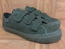 RARE🔥 VANS Prison Issue Deluxe Reptile Poison Ivy Green Triple Strap 9 Sample