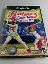 Backyard Sports: Baseball 2007 (Nintendo GameCube, 2007) No Manual
